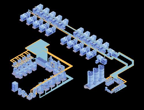 Sistemas centralizados para transporte de resina plastica